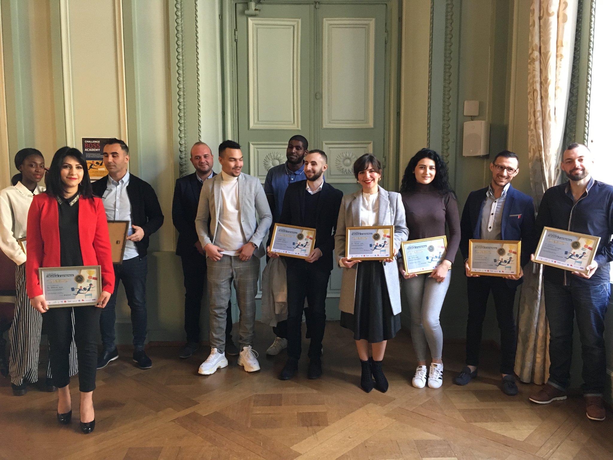 Lauréats du concours Boss Academy - Photo Ville de Metz